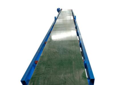 移动不带升降式皮带输送机移动式 凹型带式输送机