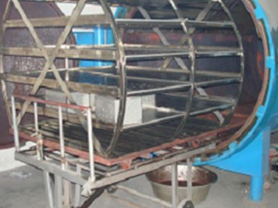 缝纫线定型蒸缸
