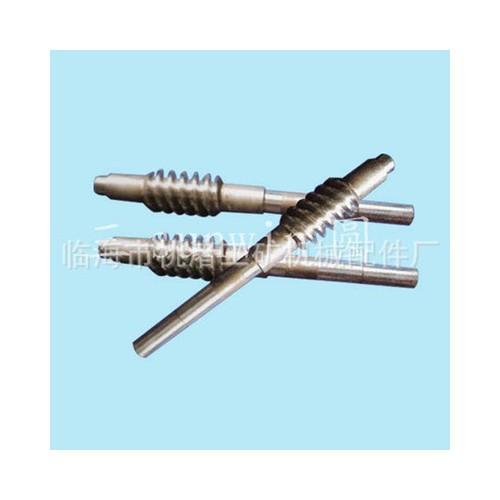 专业厂家供应 铜材质优良耐用精美蜗杆 磨制精密蜗量大从优
