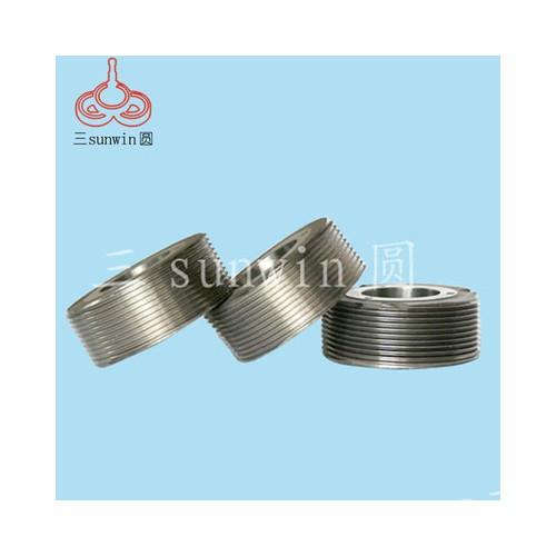 长期供应 公制内孔高度滚丝轮 固定空心滚牙机滚丝轮