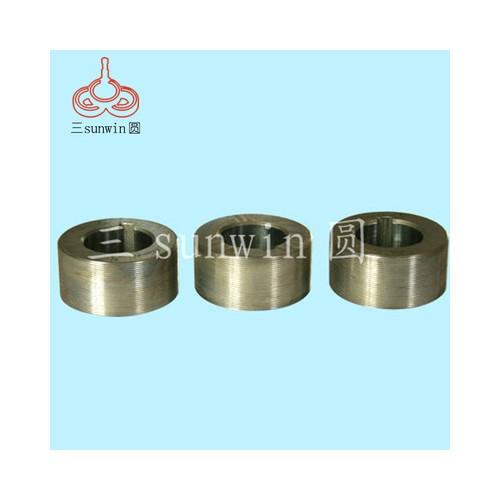 荐 非标蜗杆滚丝轮 三轴磨削固定滚丝轮 高耐磨硬质合金滚丝轮