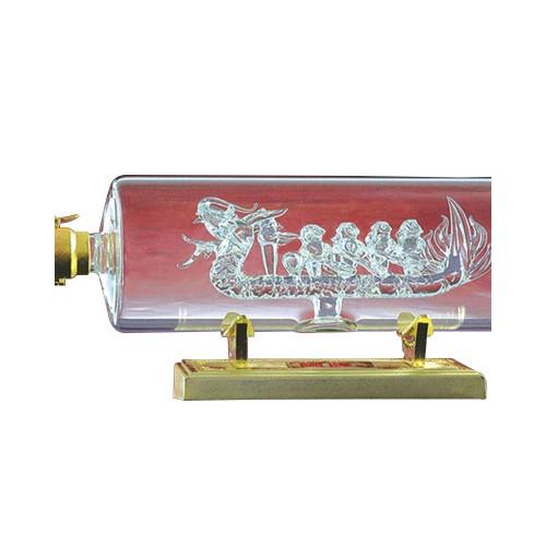一帆风顺系列玻璃酒瓶 欧式玻璃艺术品 批发高硼硅玻璃工艺酒瓶