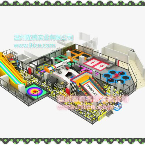 大型室内体能概念主题综合体儿童乐园,小勇士体验式儿童乐园