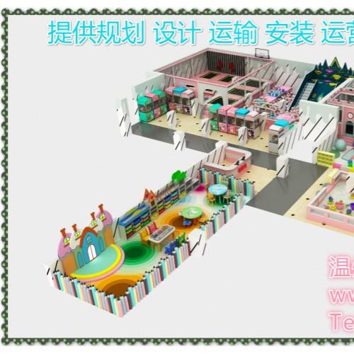 室内儿童乐园设备产销全国性价比高户外儿童乐园大型蹦床