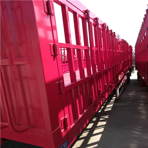 轻型13米仓栏半挂车厂家直销仓栏半挂车价格及尺寸图片