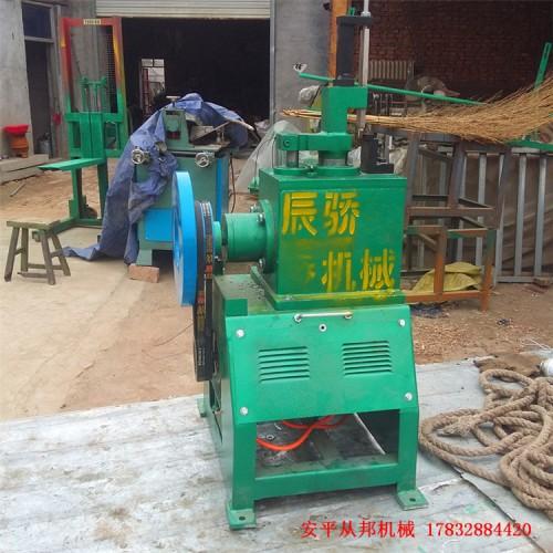 从邦机械供应小型网片修边机 磨边机 修边掏门两用机成本低