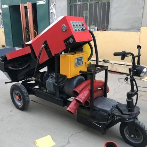 厂家直销 二次构造泵斜式二次构造柱泵输送泵