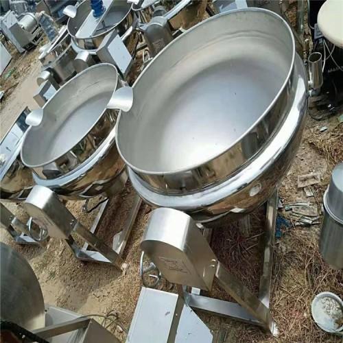 金益二手设备  出售夹层锅 二手行星搅拌夹层锅