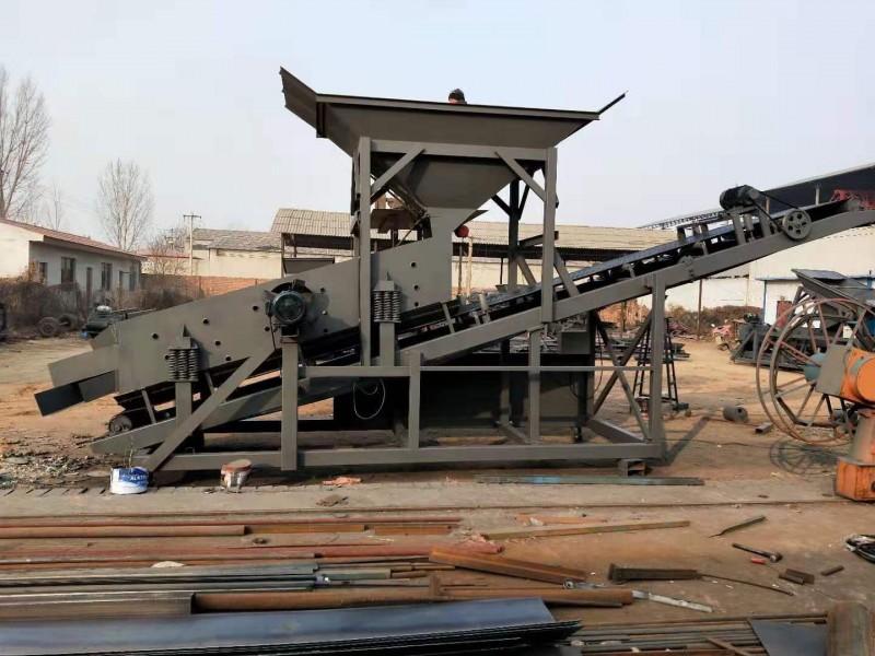 新型滚筒型筛沙机 震动式河沙筛沙机 小型振动筛沙机生产厂
