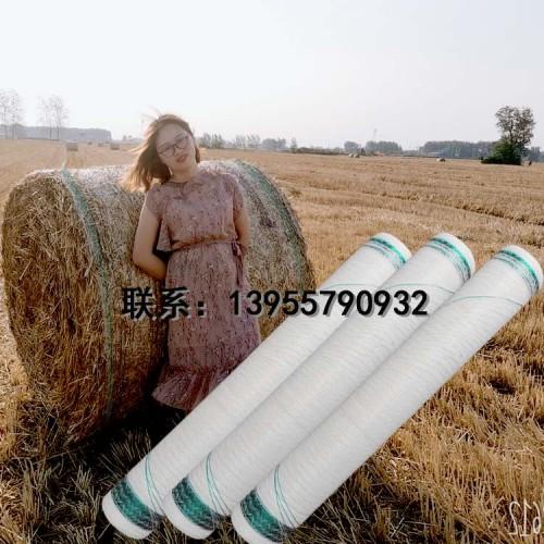 打捆绳塑料打捆绳PP包装网打捆机专用王捆草网