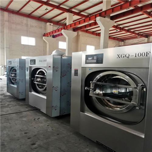 宾馆布草一条龙洗涤设备 酒店洗衣机烘干机价格性能