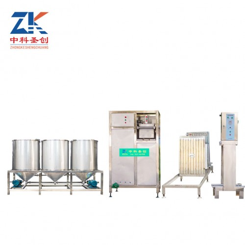 莆田全自动豆干机 做豆干的机器多少钱 豆腐干机厂家培训技术