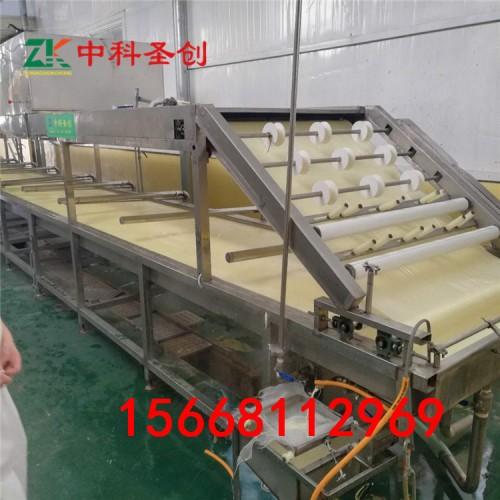 亳州全自动腐竹机 腐竹油皮机 腐竹生产线设备操作简单