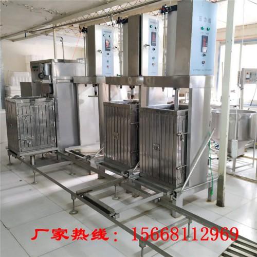 宿迁豆腐干机 豆干生产设备 全自动豆干机厂家可上门安装