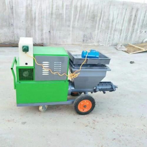 砂浆喷涂机厂家711型工地粉墙机快速砂浆喷涂机水泥砂浆粉墙机