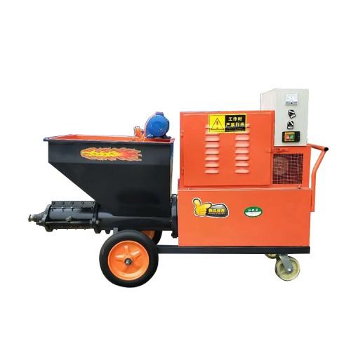 水泥砂浆喷涂机柱塞喷涂机腻子喷涂机粉墙机墙面喷涂机双缸喷涂机