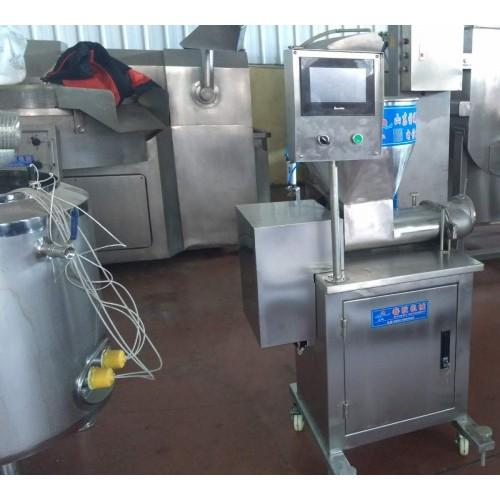 手工水饺生产线,自动出皮、注馅的手工水饺生产线价格
