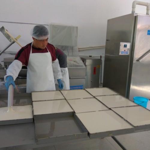 新技术生产千叶豆腐加工设备,新配方工艺,省去静置醒发环节