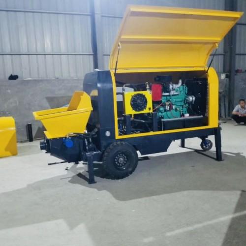 斜式混凝土输送泵