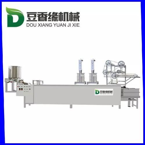 咸宁不锈钢豆腐皮机自动折叠 小型豆腐皮机生产线价格