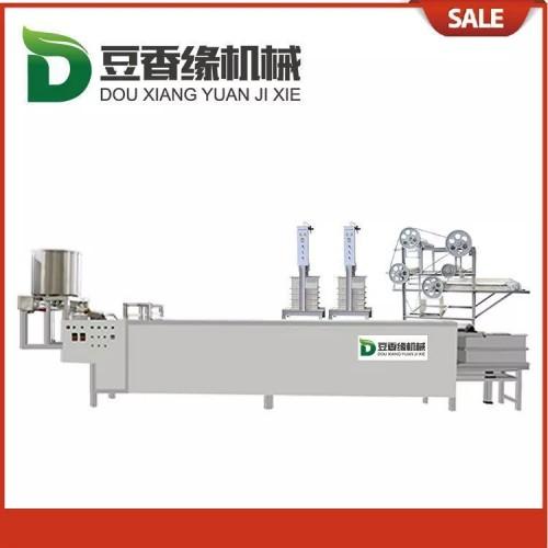 常德大型豆腐皮机泼皮均匀 自动豆腐皮机简易实用