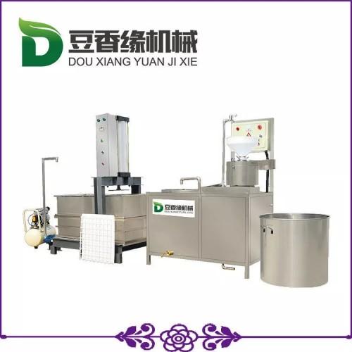 南昌自动豆干机一键式生产 小型豆腐干机无噪音无污染