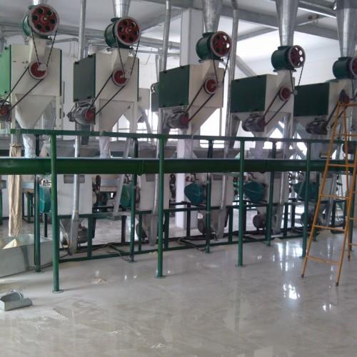 50吨荞麦机组