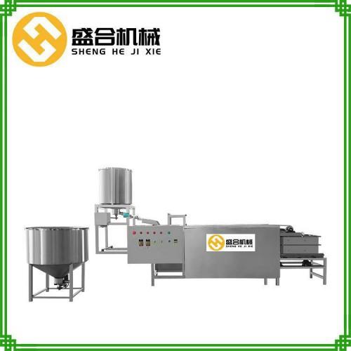 小型豆腐皮机哪家好 全自动豆腐皮机器 盛合豆制品设备厂家