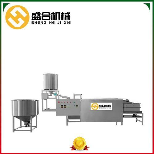 做豆腐皮的机器价格 自动折叠豆腐皮机 盛合厂家豆制品设备