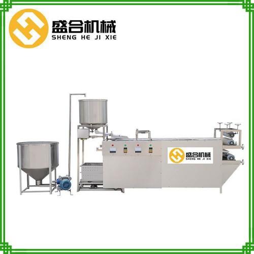 工厂热销豆腐皮机器 不锈钢材质豆腐皮机 创业好项目
