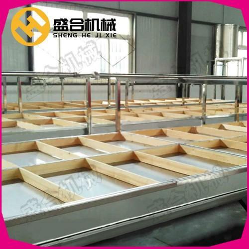 锅炉蒸汽式腐竹机器 全自动腐竹生产线 盛合豆油皮机价格