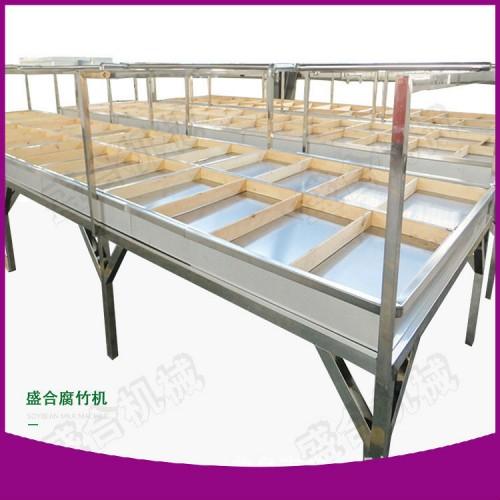 腐竹生产机器制造厂家 河南腐竹机现货供应 盛合酒店式油皮机
