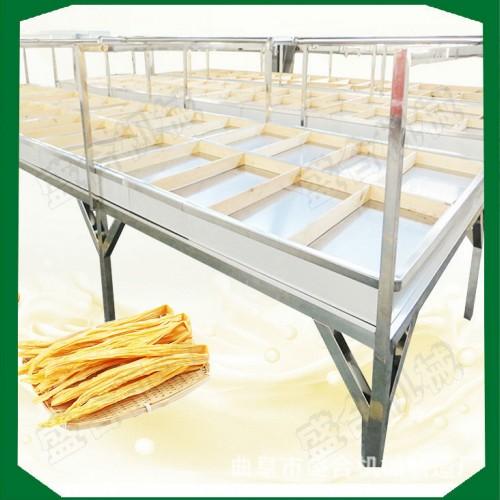 蒸汽式加热腐竹机器 自动加水腐竹生产线 盛隆豆油皮机器