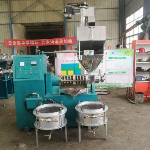 茶籽榨油机 螺旋榨油机 出油率高不冒渣