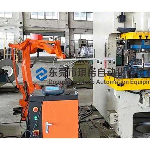 冲压自动化生产线花蓝桶底盖 天津冲床机器人设备