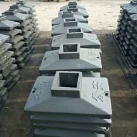 黑龙江公路护栏底座安装「彪宇路桥配件」售后完善/质量可靠