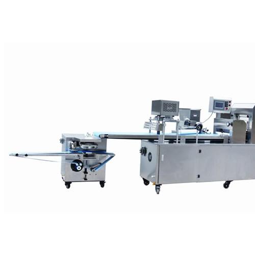SLBM-5II三道擀面酥饼、面包多功能成型机组