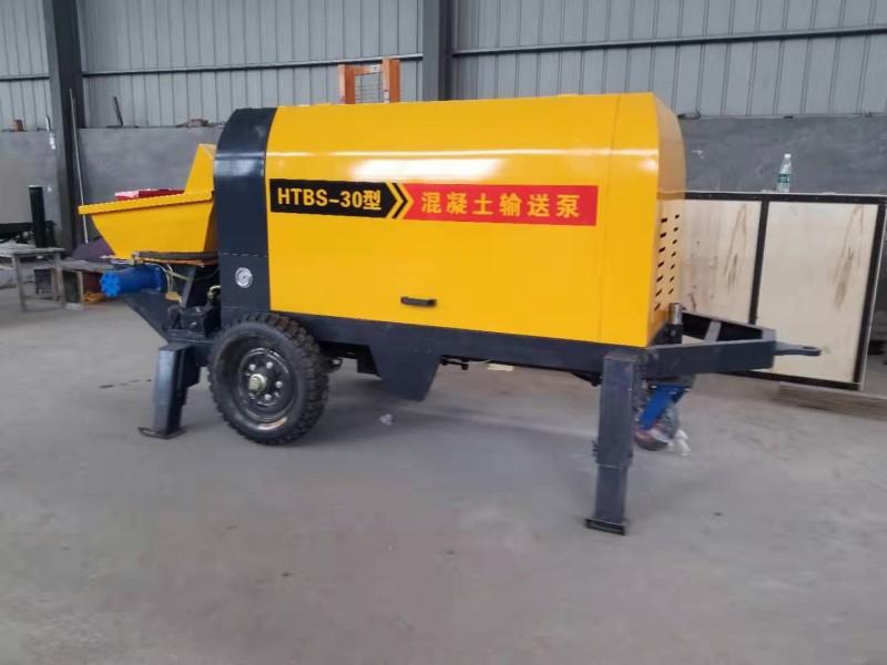 细石砂浆混凝土输送泵浇筑泵二次构造输送泵