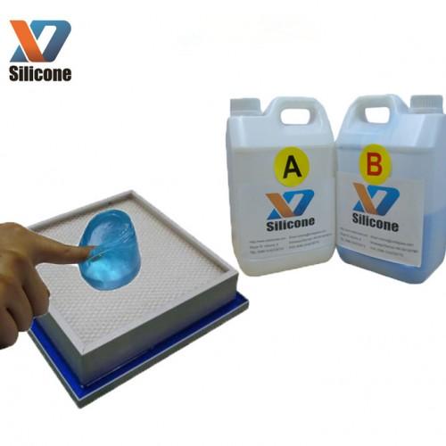 环保透明电子灌封硅凝胶