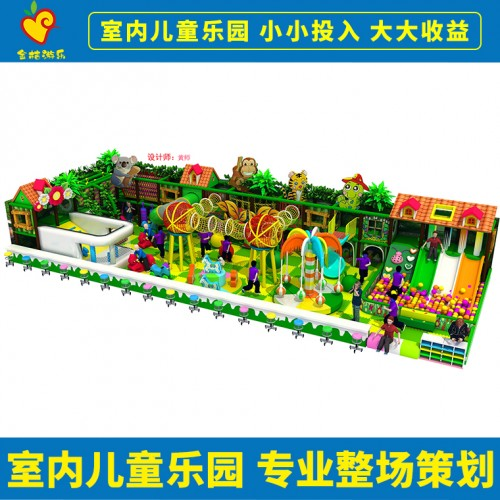 淘气堡大型蹦床儿童乐园设备供应
