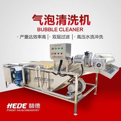 赫德机械 多功能水果蔬菜清洗机 大枣清洗机 蒲公英气泡清洗机