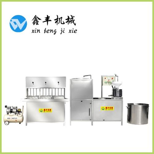 合肥豆腐机全自动生产 家用豆腐机价格 豆腐机操作视频