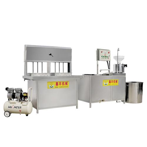 蚌埠商用豆腐机 大型卤水豆腐机 三联磨价格