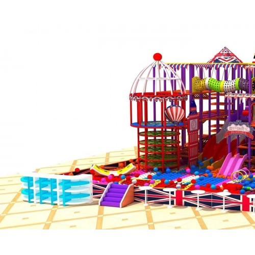 淘气堡儿童乐园大型室内儿童游乐场设备厂家新款亲子乐园玩具定制