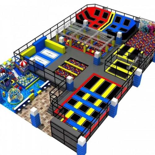 供应儿童乐园大小型淘气堡室内乐园设备儿童游乐场设备