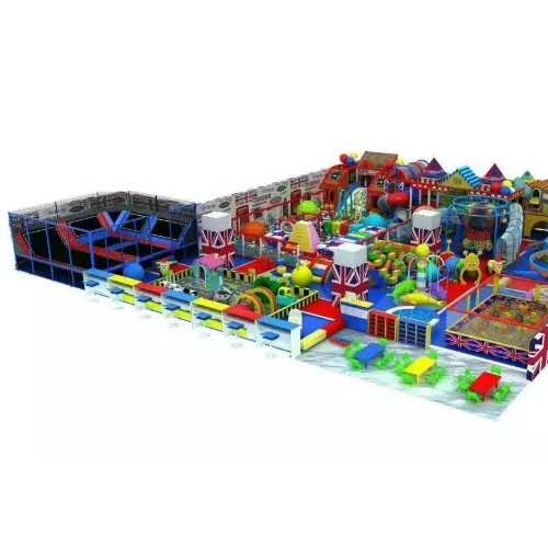 儿童乐园淘气堡室内游乐场设备森林主题乐园滑梯大型室内游乐设备