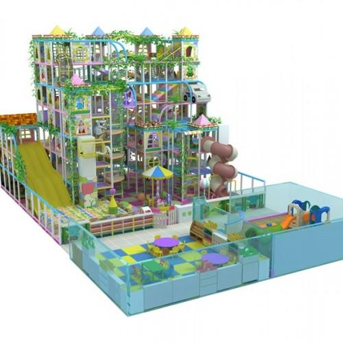 室内大型儿童蹦床乐园成人健身蹦床淘气堡儿童乐园粘粘乐游乐设施