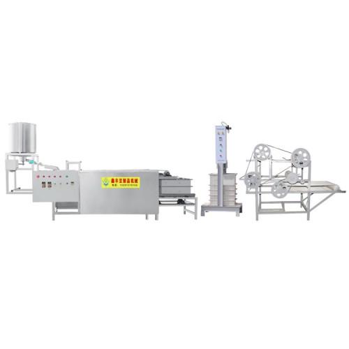 大同多功能豆腐皮机 做豆腐皮机器 豆腐皮机全自动化生产