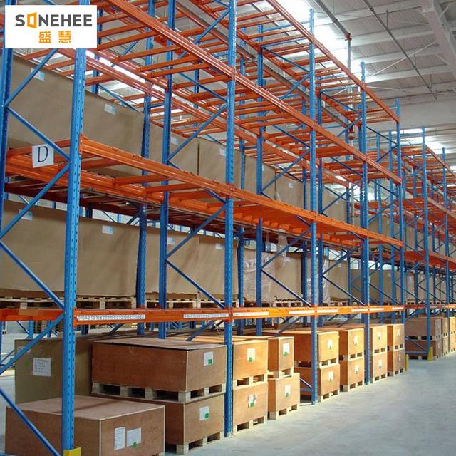 重型仓储货架 仓库库房托盘式货架承载1.5吨
