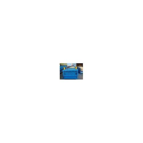 新疆彩钢压瓦机哪里买「益商优压瓦机」物美价廉现货直供